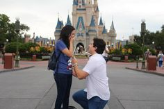 Wedding Proposal de Diana y Joaquin en Disney