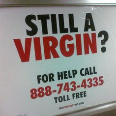 Things You Learn as a Virgin in Your 20s