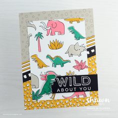 Pieces & Patterns by Stampin' Up! | wild about you