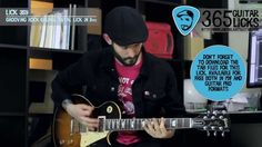 Lick 359/365 - Grooving Rock Grunge Metal Lick in Dm | 365 Guitar Licks ...