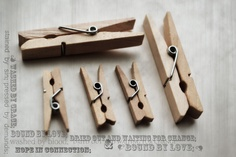 Clothes pin image I created today on photoshop.  Love snow days!