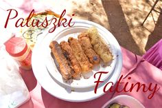 Paluszki Fatimy z nadzieniem. Jedne z mięsem a drugie wegetariańskie Sausage, Meat, Food, Sausages, Essen, Meals, Yemek, Eten, Chinese Sausage