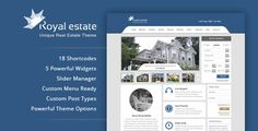 Royal Estate - Premium Wordpress Real Estate Theme Download