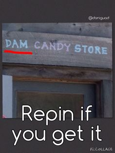 thats soooo dam funny<<< I bet the specialise in blue candy...