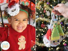 Papa Noel Santa Headband and Elf Ornament | Craftsy