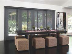 Delightful Panel Track Blinds For Sliding Glass Doors