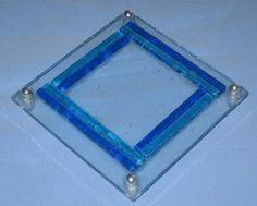 Lite glassfat til lys NOK 30