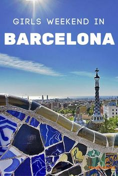 Ideas and Tips for a Girls Weekend in Barcelona - With its endless list of exciting things to do and see, its the ultimate destination for any group of ladies looking for some R&R, shopping and vibrant nightlife  // Traveldudes Social Travel Community: