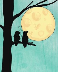 Birdies to the moon and back