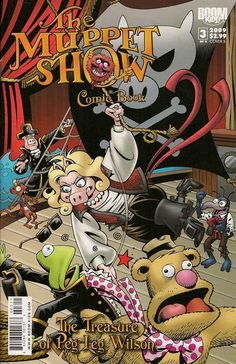 Muppet Show: The Treasure of Peg Leg Wilson #3. 4/25/12 Purchase for the kiddos