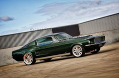 This would go nice with our dark green 1967 Ford Fairlane Mustang Shelby, 1967 Mustang, Ford Mustang Fastback, Mustang Cars, Shelby Gt500, My Dream Car, Dream Cars, Ford Trucks, 4x4 Trucks