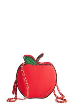 Daily Serving of Cute Bag. An adorable accessory a day ensures eye-catching style is here to stay! #red #modcloth
