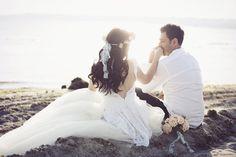 Somon - mint düğün buketi , çiçekli gelin tacı