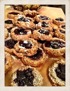 Gluten Free Jam Dot Cookies by Jennifer Esposito (formerly and missed on Blue Bloods)