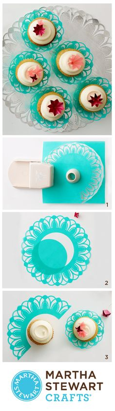 Make the cut with the Martha Stewart Crafts Circle Cutter and Circle Edge Punch.