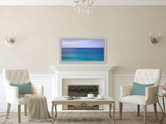 A personal favorite from my Etsy shop https://www.etsy.com/listing/271495958/tropics-bermuda-abstract-beach-coastal