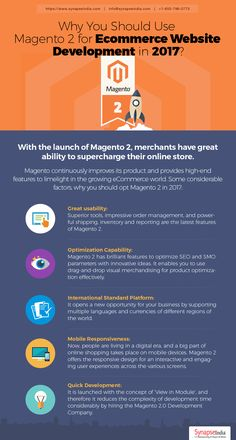 Why You Should Use Magento 2 for #EcommerceWebsiteDevelopment in 2017  #ecommercedevelopment #webdevelopment #MagentoDevelopment