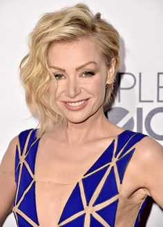 People's Choice Awards 2015 Hairstyles: Portia de Rossi Short Hair  #hairstyles #hair