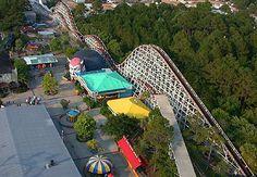 Miracle Strip Amusement Park, Panama City Beach, Florida