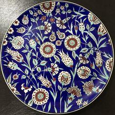 Turkish Tiles, Turkish Art, Decoupage Art, Islamic Art, Clay Art, Art And Architecture, Still Life, Pottery, Plates