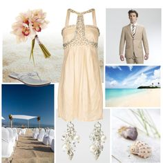 Beachy Destination Wedding