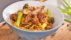 Peking Duck and Broccoli Stir-Fry: Everyday Gourmet with Justine