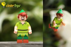 """Peter Pan: """"The moment you doubt whether you can fly, you cease for ever to be able to do it! Lego Disney, Peter Pan, In This Moment, Fictional Characters, Art, Art Background, Peter Pans, Kunst, Fantasy Characters"""