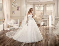 Moda sposa 2016 - Collection NICOLE.  NIAB16097. Abito da sposa Nicole.