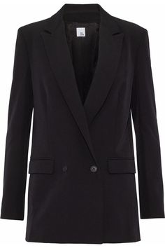 Double-breasted crepe blazer | IRIS & INK | Sale up to 70% off | THE OUTNET