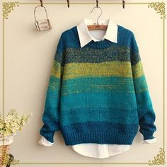 Buy 'Fairyland – Striped Sweater' with Free International Shipping at YesStyle.com. Browse and shop for thousands of Asian fashion items from China and more!