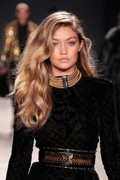 "The Most Shocking 2016 Hair Trend: Giving A Shit #refinery29 http://www.boutiques.refinery29.com/2016/01/100231/polished-hairstyle-trends#slide-2 Over-The-Top Volume At Balmain X H&MAffordable More affordable Balmain wasn't the only thing to come out of the collab that rocked the fashion world this year. Models at Balmain x H&M's show wore big, side-parted curls that screamed ""rich-girl hair."" Cop the look using this how-to, then finish with a heavy application of <a href=""h..."