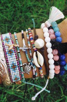 Armful of bracelets | Pura Vida Bracelets