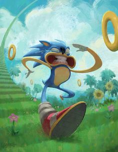 Welcome to the Sonic the Hedgehog community on Game Jolt! Find and explore Sonic the Hedgehog fan art, lets plays and catch up on the latest news and theories! Sonic Fan Art, Sonic The Hedgehog, Video Game Art, Cultura Pop, Character Design References, Concept Art, Illustration Art, Artsy, Drawings