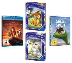 Wir verlosen zwei zwei tolle Disney Fansets, bestehend aus DVD/Blu-ray und 2 Puzzles! Zum Teilnahmeformular: