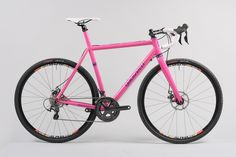 HOT PINK GAULZETTI DISC CROSS