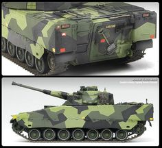ACADEMY 1/35 SWEDISH CV9040B INFANTRY FIGHTING VEHICLE