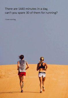 30 minutes running