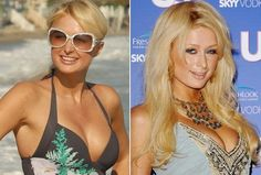Paris Hilton Boob Size