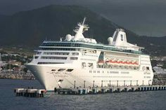 Empress of the Seas Cuba or Norwegian Fjords itineraries speculated Bahamas Cruise, Cruise Port, Cruise Ships, Royal Caribbean Ships, Southern Caribbean, Bayonne Bridge, Empress Of The Seas, Hamilton Bermuda, Canada Cruise