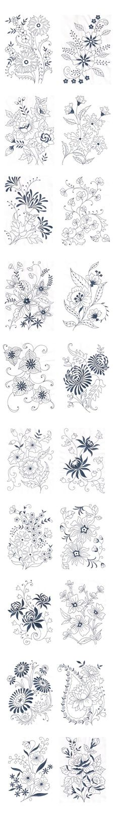 Amazing Emotions - Vintage Florals 01    Machine Embroidery Designs --- Vintage Florals 01 These fabulous vintage floral designs can add supreme beauty to your products like bed linen bath linen kitchen linen curtains and even dresses. You can notice the variety in the floral designs    For more details visit https://ift.tt/2CQSTmB