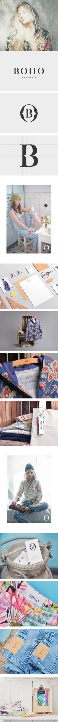 BOHO on Behance CPD: We are not boho. We find that when it comes to styling things/creating things to look boho, there is a very fine line between it looking messy and bag lady, and chic and trendy.