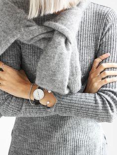 Cet automne, on n'hésite pas à user et abuser des camaïeux de gris ! (blog MyDubio)