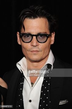 Actor Johnny Depp attends Spike TV's 'Don Rickles: One Night Only' on May 6, 2014 in New York City. CREDIT: KEVIN MAZUR