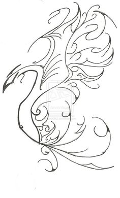Phoenix Tattoo by ~EvelGirl2 on deviantART