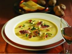 Linsen-Curry-Creme-Suppe