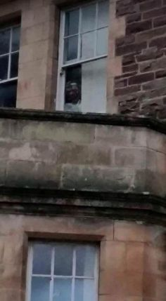 Can You See The #Ghost In This Terrifying Picture Of An Old Asylum?