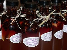 oxymel (honey/vinegar) herbal remedy! simple, useful, and pretty!