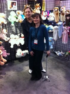 Doris and Donna with some Embroider Buddy friends  at ISS Atlantic City 2014