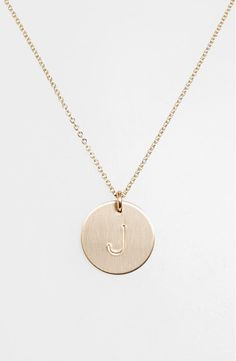 Initial Disc Necklace, Good Luck Necklace, Hamsa Necklace, Engraved Necklace, Initial Pendant, Necklace Set, Pendant Necklace, Delicate Gold Necklace, 14k Gold Necklace