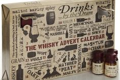 Whisky Advent Calendar Worry no more about finding a bad piece of chocolate on the other side of the door. The Whisky Advent Calendar provid. Spicy Drinks, Master Of Malt, Advent Calenders, Gift Guide, Blog, How To Make, Holiday Ideas, Christmas Ideas, Packaging